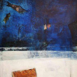 Kunst, abstrakte Malerei, Strukturbild, Acrylmalerei
