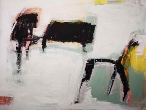 Kunst, Abstrakt, Acrylmalerei, Klavier, Musik