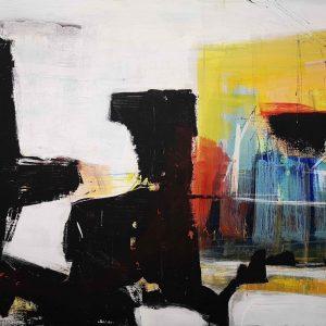 Kunst, Abstrakt, Acrylmalerei, Musik, Klavier, Konzert
