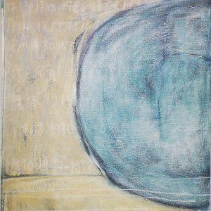 Abstrakt, Acrylbild, Industrielle Revolution, Zeit