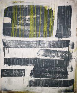 Abstrakt, Malerei, Acrylbild, Leinwand