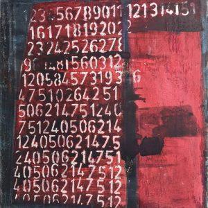Abstrakt, Malerei, Acrylbild, Leinwand, Leben