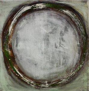 abstrakte Kunst, Leinwand, Acrylmalerei, Bild, Malerei, Zeit, Kreis,